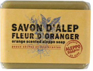 Aleppo Soap Co Aleppo sinaasappelzeep 100 Gram