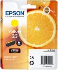 Epson Oranges C13T33444010 inktcartridge Origineel Geel 1 stuk(s)