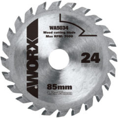 Worx cirkelzaagblad WA5034 tct 85mm 24 tanden
