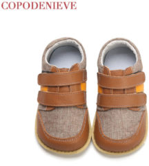 Bambino COPODENIEVE Boys Shoes Spring Autumn Pu Leather Toddler Kids Loafers Moccasins Solid Anti-slip Children's Shoes for Boys