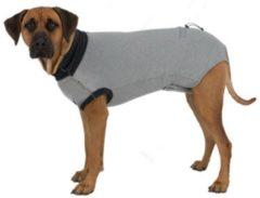 Zwarte Trixie shirt voor na operatie grijs l 55 cm