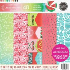 Craft Smith: Melon Patch 12x12 Inch Paper Pad (MPP0118)