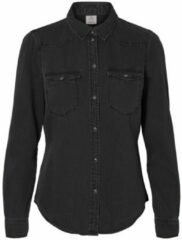 Vero Moda Vmmaria Ls Dnm Slim Shirt Mix Ga No Shirts