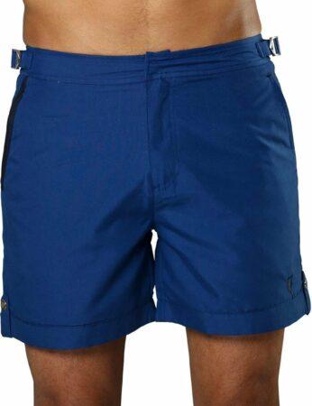 Afbeelding van Sanwin Beachwear Korte Broek en Zwembroek Heren Sanwin - Blauw Tampa - Maat 32 - S/M