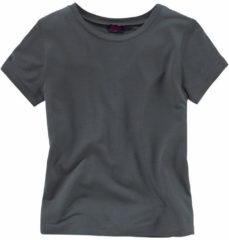 Antraciet-grijze BUFFALO, Meisjes Shirt, antraciet