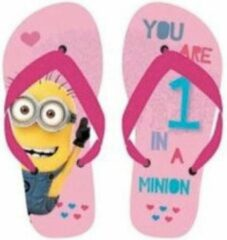 Roze Slippers minions 33/34