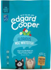 Edgard & Cooper Verse MSC-witvis Brok - Voor volwassen katten - Kattenvoer - 300g