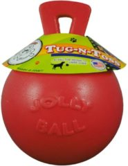 Rode Jolly Ball Tug-n-Toss - XL (10 inch) 25 cm rood