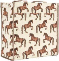 Bruine Signare Gobelin - Cityshopper - Schoudertas - Whistlejacket - Paarden - George Stubbs - Paard