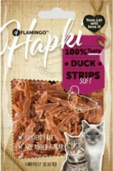 Flamingo Kattensnack Soft Duck strips 50 gram