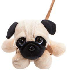 Kamparo Hondenknuffel Met Riem 23 Cm Lichtbruin