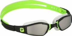 Phelps Ninja - Zwembril - Volwassenen - Mirrored Lens - Zwart/Lime