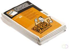 Cleverpack luchtkussenenveloppen, ft 100 x 165 mm, met stripsluiting, wit, pak van 10 stuks