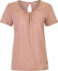 Taupe Killtec Dames shirts Dames Outdoorshirt Maat 40