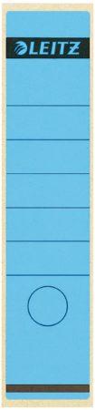 Afbeelding van Rugetiket Leitz 1640 61x285mm zelfklevend breed/lang blauw