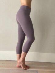 Ultimate Fit - High-Waisted Sportlegging 7/8 Sport / Yoga legging oud lila