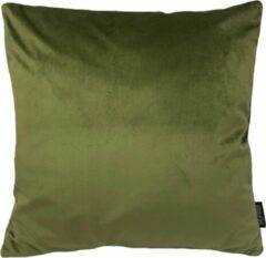 Gek op Kussens! Velvet Olijfgroen Kussenhoes | Fluweel - Polyester | 45 x 45 cm | Groen