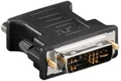 Goobay DVI/VGA Zwart kabeladapter/verloopstukje