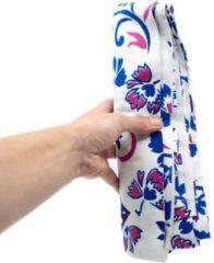 Spiru Authentiek Wandkleed Katoen met Roze / Blauw Mandala (240 x 210 cm)