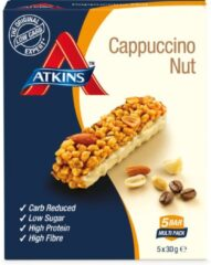 Atkins Day break capuccino nut reep 30 gram 5x30 Gram