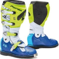 Forma Terrain TX 2.0 Stivali motocross Giallo/Bianco/Blu 42