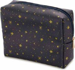 Balvi Make-up Tasje Starry 12 X 16 Cm Polyester Blauw/geel