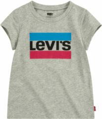 LEVI'S Meisjes zomer t-shirt - Logo - Grijs