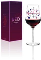Red Rotweinglas P. Chiera H17 Ritzenhoff Transparent