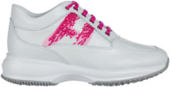 Bianchi Hogan Scarpe sneakers donna in pelle interactive