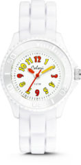 Colori Kidz 5 CLK018 Kinderhorloge - Siliconen Band - Ø 30 mm - Wit