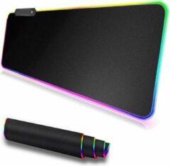 GSMSCHERM Kapot © Gaming muismat met led - usb - 80 x 30 cm - zwart