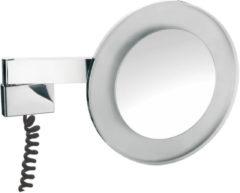Emco Prestige LED-scheerspiegel 3x vergrotend spiraalsnoer chroom 109606029