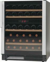 Zwarte Vestfrost Solutions WB45 Wijnklimaatkast met 2 Temperatuurzones voor 45 flessen