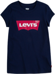 LEVI'S Meisjes zomer t-shirt - Batwing - Peacoat / Tea tree pink