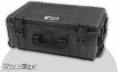 Rocabox - Universele trolley koffer - Waterdicht IP67 - Zwart - RW-5229-20-BFTR - Plukschuim