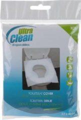 Witte Toiletbril dekje doos van 10 stuks