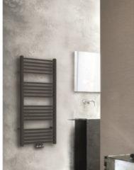 Radiator Boss & Wessing Emma 119x60 cm Midden Onder Aansluiting Mat Zwart (732 Watt)