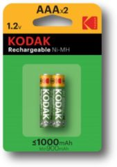 Kodak rechargeable Ni-MH AAA battery 1000mAh blister 2