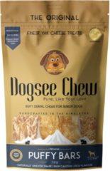 Dogsee Chew Puffy Bars - Hondensnacks - Kaas 70 g