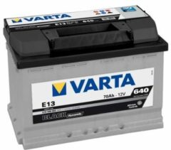 Varta BLACK Dynamic 570 409 064 3122 E13 12Volt 70 Ah 640A/EN Start Accu 4016987119426