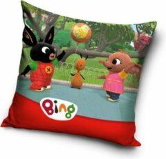 Bing Bunny Kussen - Sierkussen gevuld 38x38cm groot