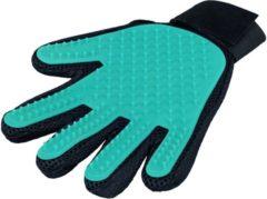 Trixie Verzorgings Handschoen - Hondenvachtverzorging - 16x24 cm Blauw