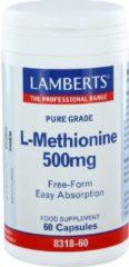 Lamberts L-Methionine 500 mg 60 Vegacaps