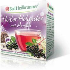 Bad Heilbrunner - Kruidenthee - Hete Vlierbes met Aronia Thee - 15 piramidezakjes