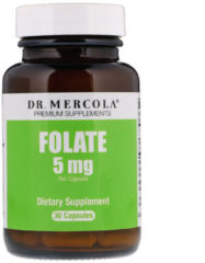 Folate 5 mg 30 Capsules - Dr. Mercola