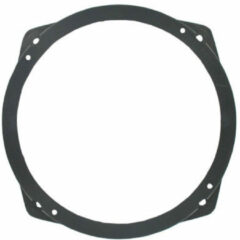 Zwarte TCP Speakerring Alfa/ Fiat/ Lancia