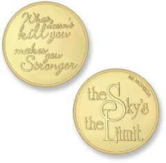 Mi Moneda SKY-02 Sky - Stronger goudkleurig Medium