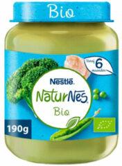 Nestle NaturNes Bio Maaltijd 6+ mnd Broccoli, Doperwten, Kalkoen 190 gr