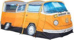 Oranje Volkswagen Bus Tent - officiële design T2 VW Camper uit 1965 - Vierpersoonstent - 398 cm x 147 cm x 155 cm