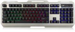 EMINENT Ewent PL3310 toetsenbord USB QWERTY Amerikaans Engels Zwart, Zilver